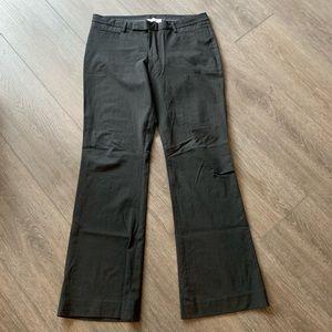 Gap modern boot cut trousers gray pants size 12 L
